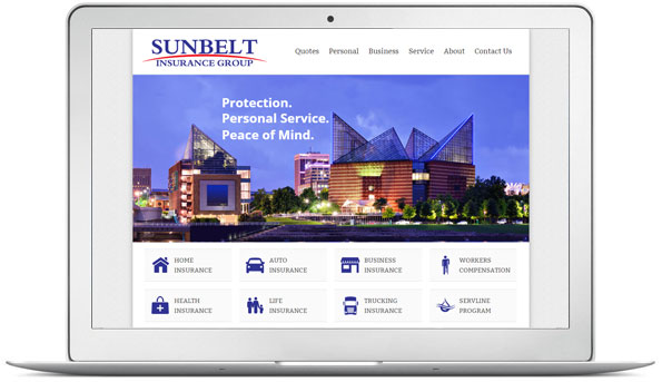 insurance-website-design-example